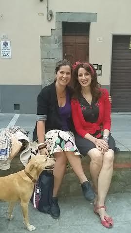 Reunited with my dear friend Carla Veneri.